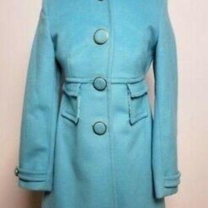 BANANA REPUBLIC Women's Tiffany Color Wool Coat